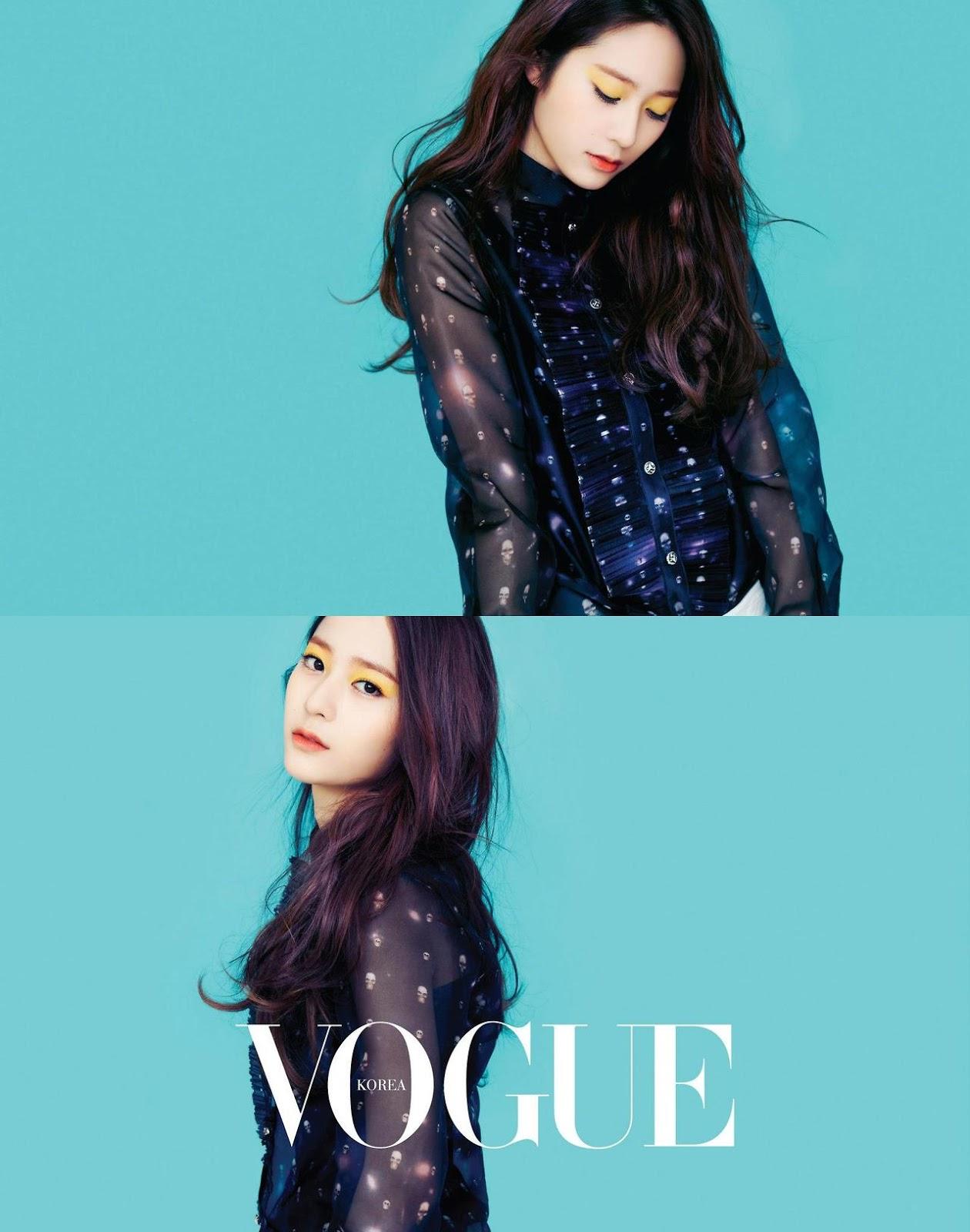 f(x) Krystal Vogue March 2013 Pictures | Hot Sexy Beauty.Club F(x) Krystal 2013