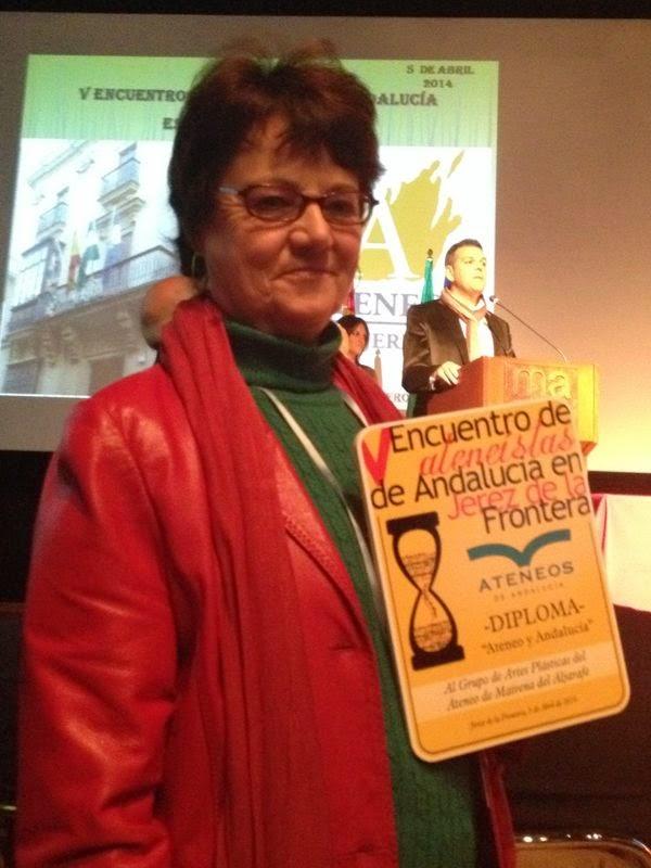 Mención Especial de la Federación Andaluza por la actividad del Grupo de Arte