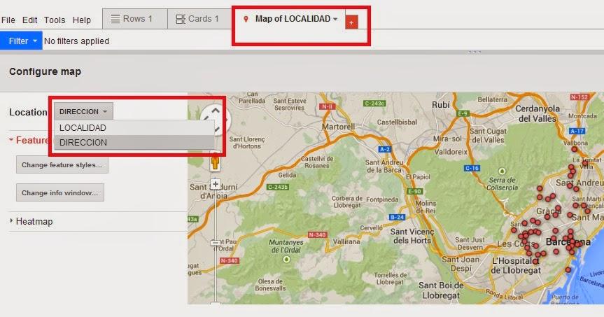 Geoinformación: Como crear un mapa de concentración de clientes ...