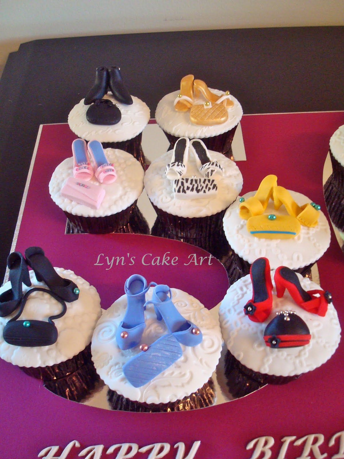 Cake Art Supplies Castle Hill : Lyn s Cake Art: Shoes and Handbags