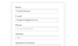 How To Create A HTML5 Contact Form