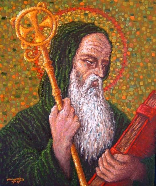 Es considerado el Patriarca del Monasticismo Occidental
