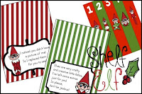 Image: This Elf on the Shelf printables is designed for kids 2-10