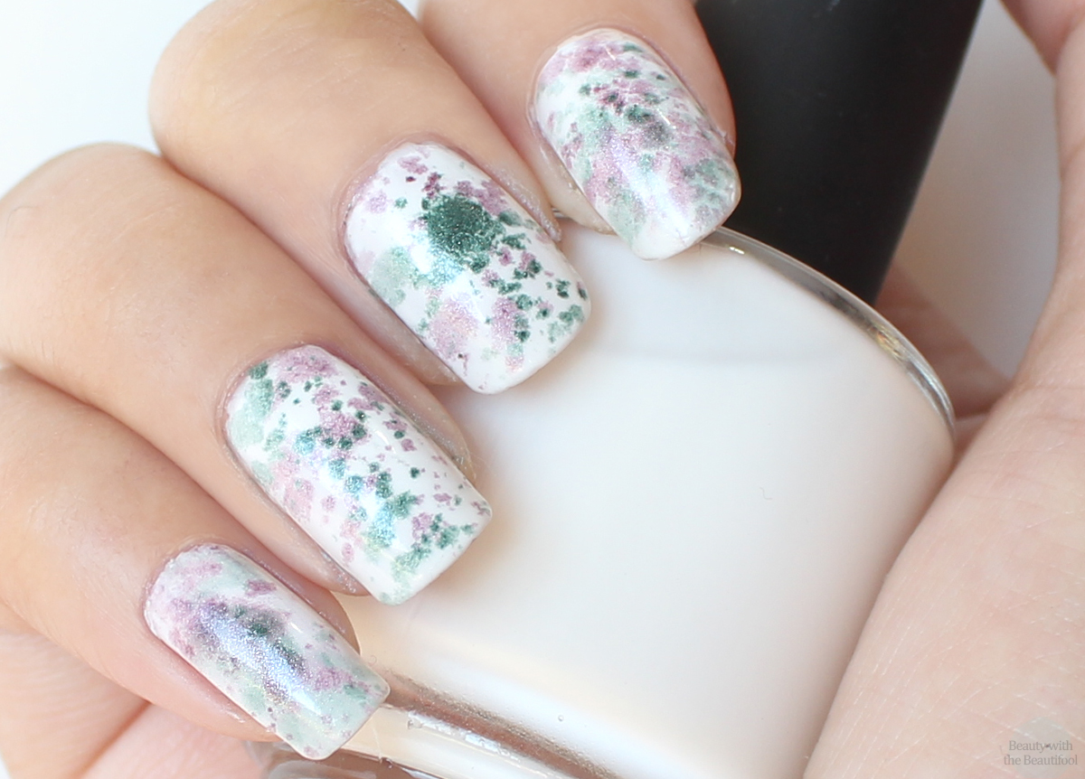 beauty with the-beautifool ♥: NOTD: Eyeshadow Pigments Nail Art ...