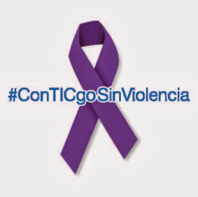 Lazo violeta #ConTICgoSinViolencia