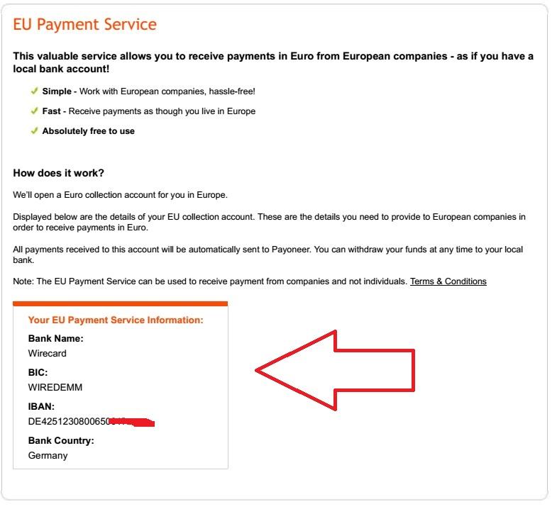EU Payment Service