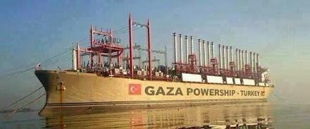 Turquía envía una estación eléctrica flotante a Gaza después de que Israel destruyera la única plan