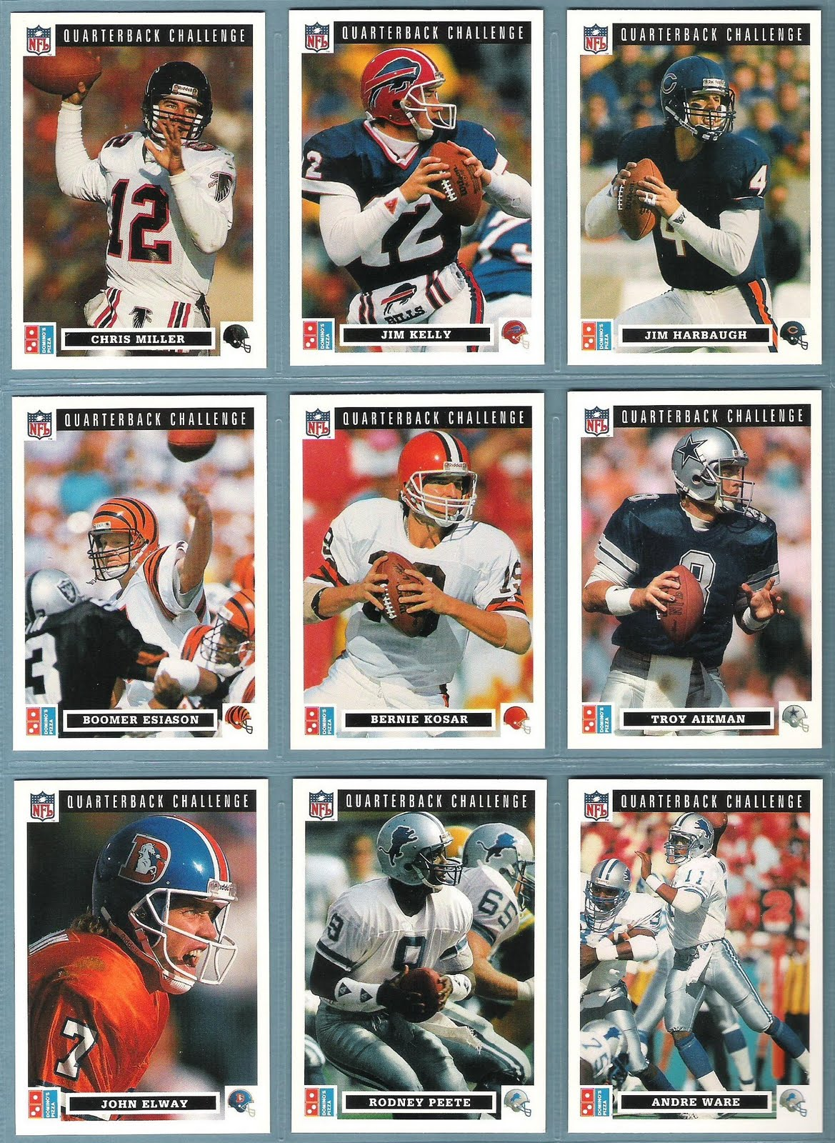 my nfl card nfl quarterbacks