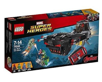TOYS : JUGUETES - LEGO Marvel Super Heroes  76048 Iron Skull Sub Attack  Avengers - Los Vengadores  Producto Oficial 2016 | Piezas: | Edad: 7-14 años  Comprar en Amazon España & buy Amazon USA