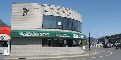 Terry's Fish and Chips - Seward, Alaska