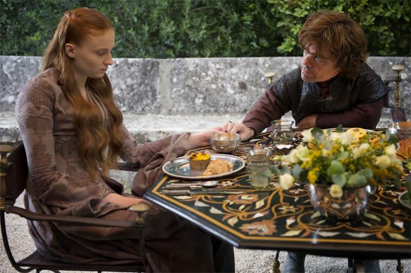 Sansa y Tyrion - Juego de Tronos cuarta temporada