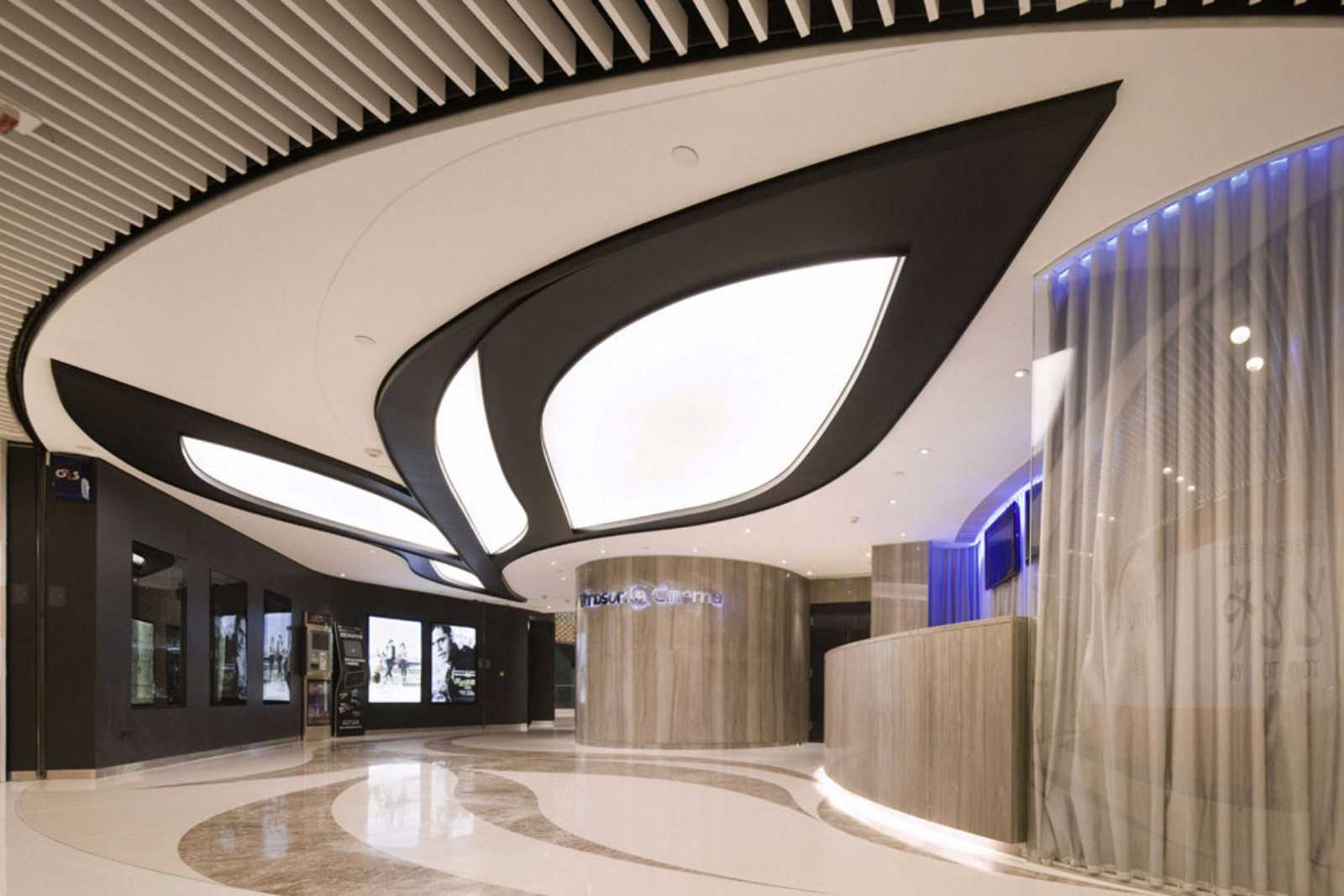 Boutique Foyer Design : Boutique cinema windsor by agc design a as architecture