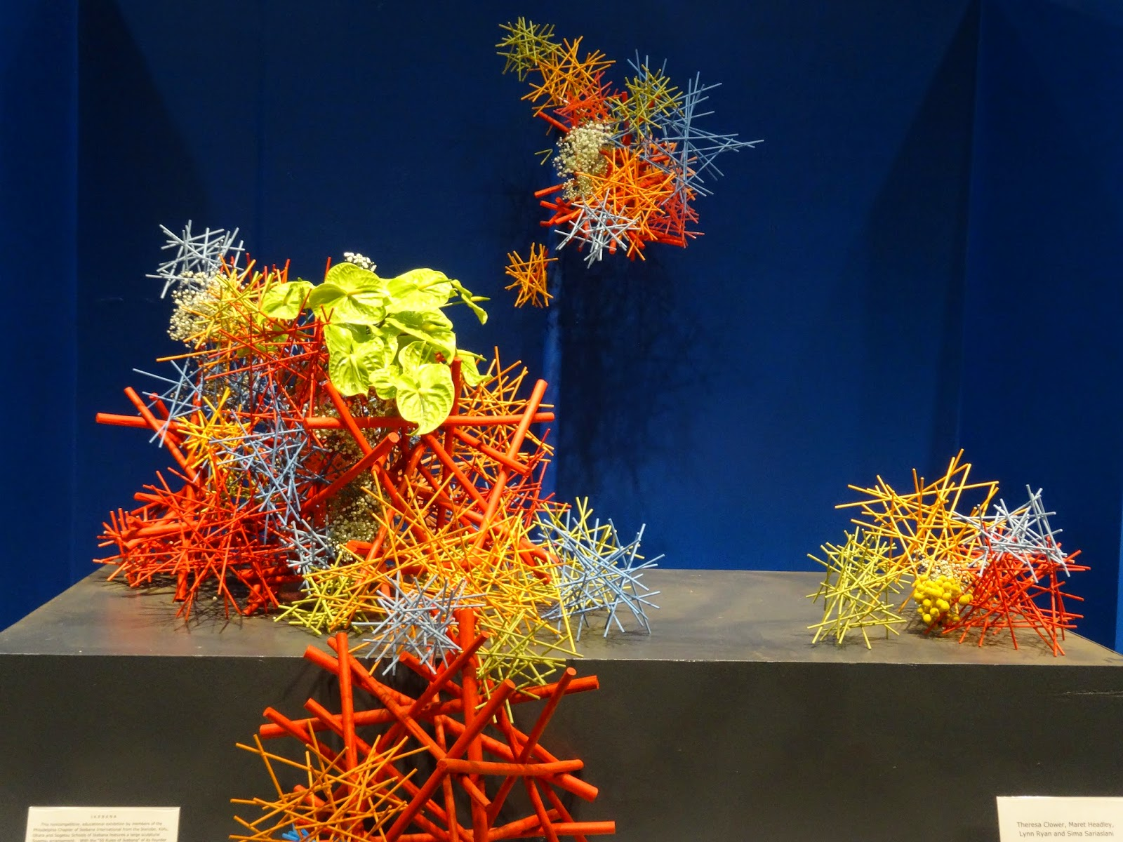 Flowers Ikebana and I Philadelphia flower Show 2015 2