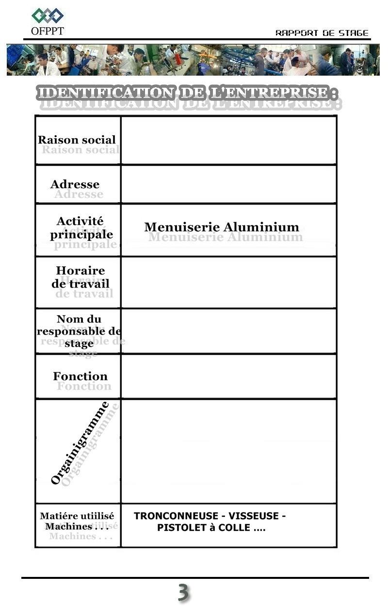 Stage Menuiserie Bois - rapportdestage menuiserieAluminium bois rapport de stage menuiserie Aluminium et bois