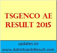 TSGENCO Result
