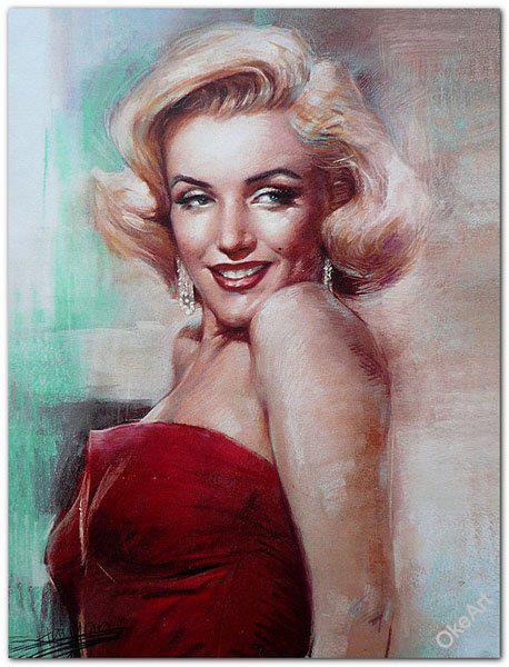Il mondo di Mary Antony: Ritratti di Marylin Monroe - Vita e frasi ...