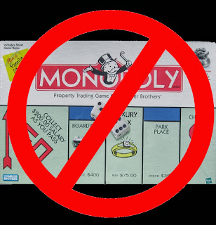 Different versions of Monopoly games listed