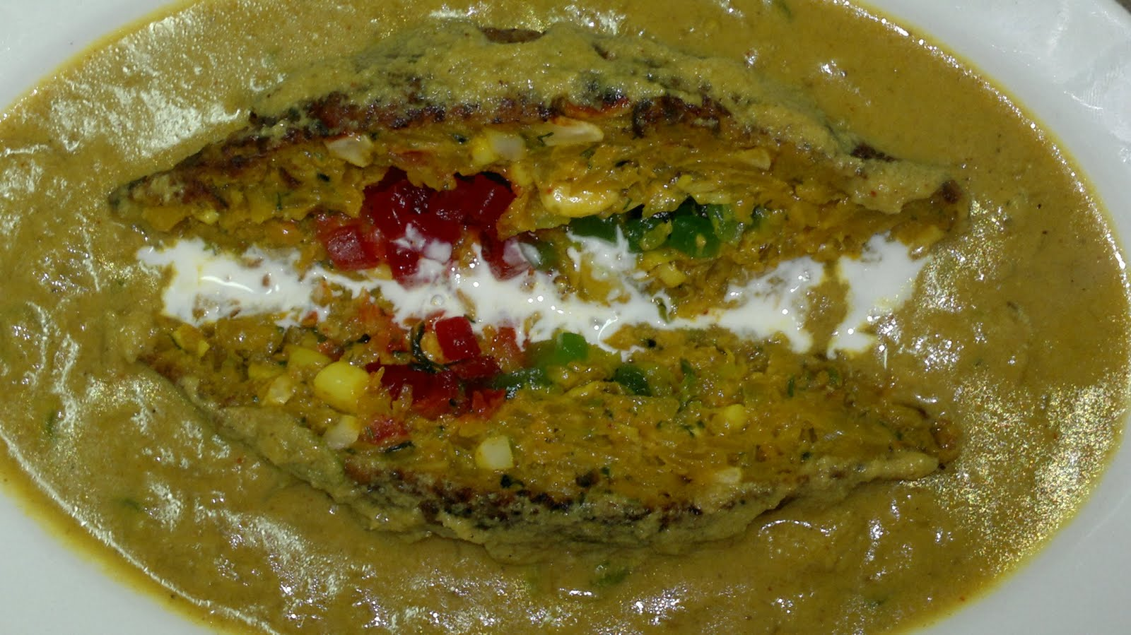 MENU: RED PUMPKIN AND DRY FRUIT KOFTA CURRY