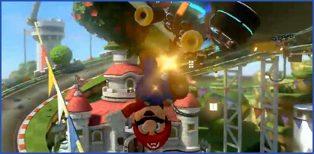 Mario Kart 8 Anti Gravity