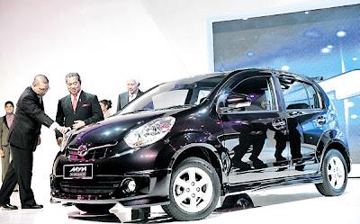 Perodua Lancar Myvi Baharu