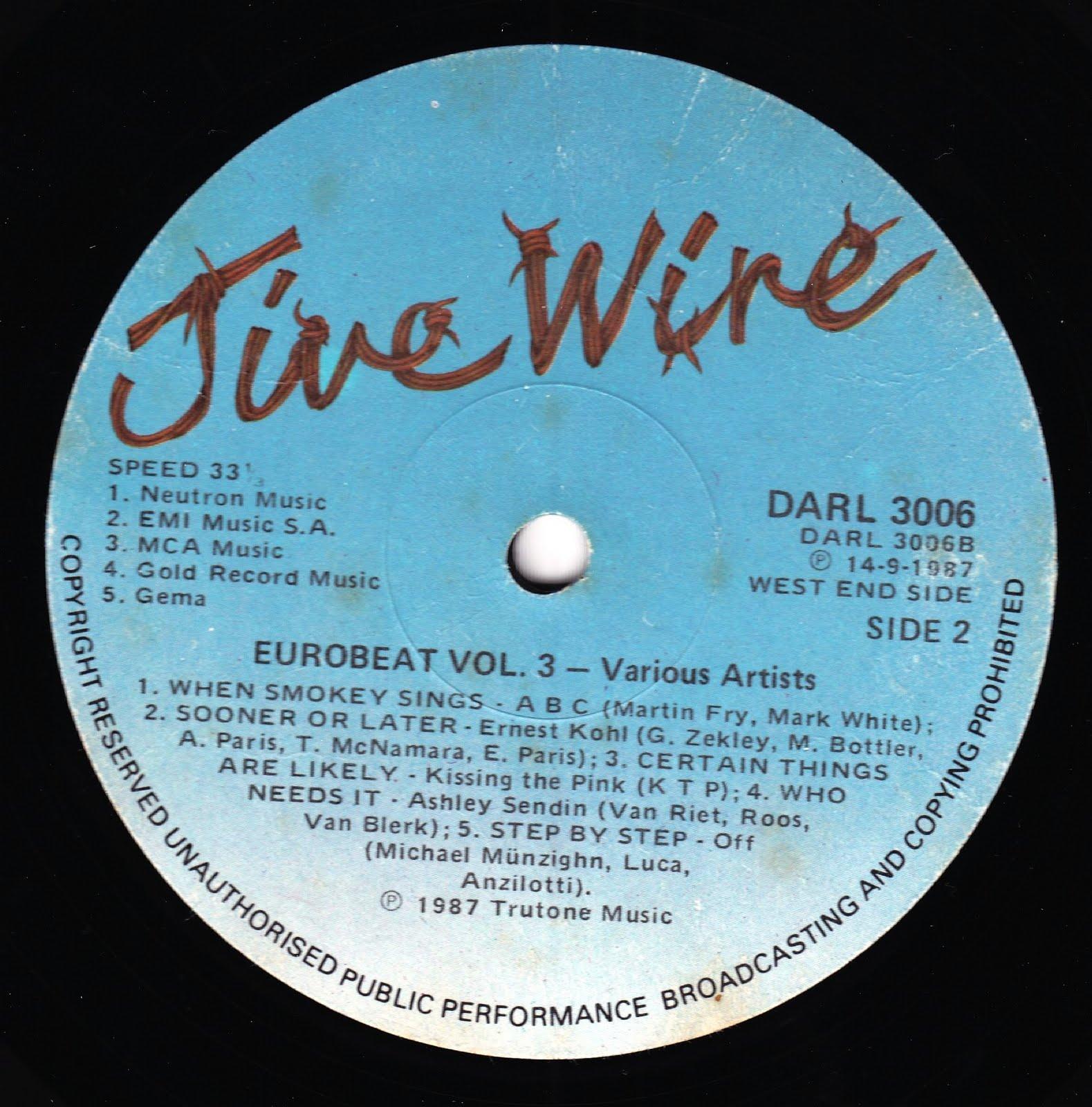 Various - Euro Disco 3/90