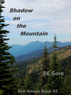 bookcover for Shadow on the Mountain by BK Gore