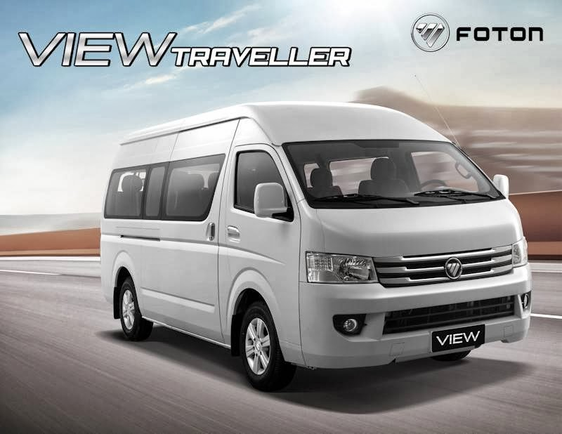 Going Big Time Foton Launches View Traveller W Brochure