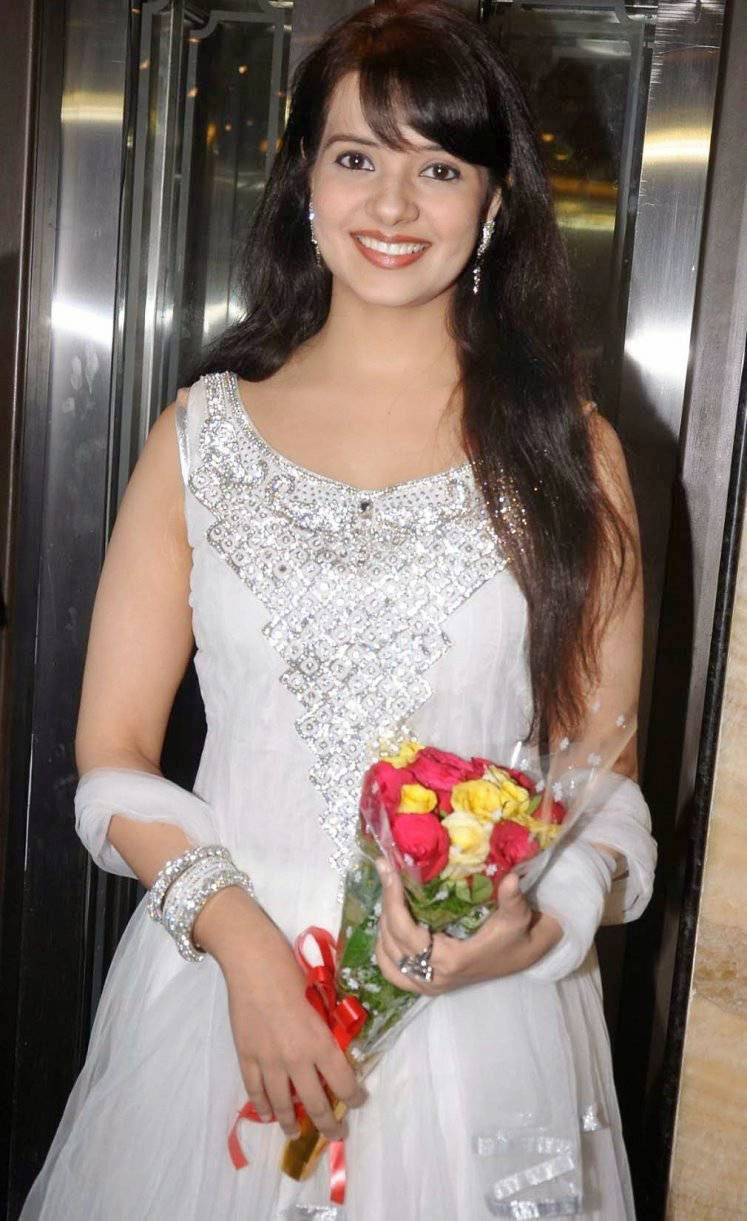 Actress Saloni Latest Cute Hot Exclusive White Dress Spicy Glamorous Photos Gallery At Manepally Jewellers Collection Launch