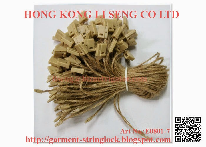 Hemp Rope String Lock Pin Manufacturer Wholesale Supplier - Hong Kong Li Seng Co Ltd