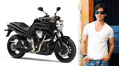 Shahid Kapoor's Yamaha MT-01