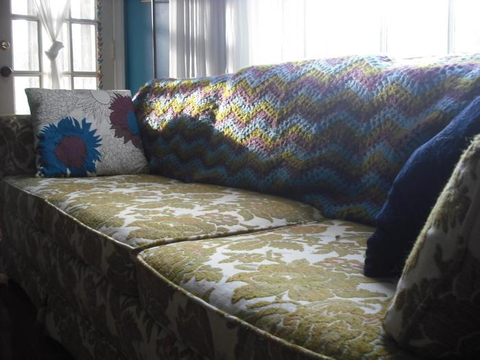 Purple Chair Crochet: A Wee Bit Ugly (Inspiration)
