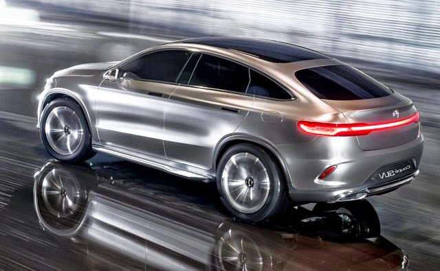 Mercedes Concept Coupe SUV Wallpaper