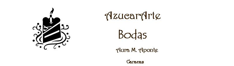 Bodas. AzucarArte de Aura