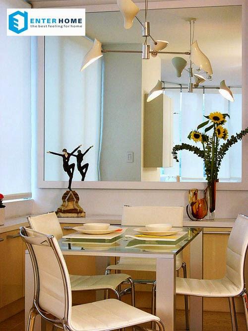 khắc phục thiếu sáng ở nhà chung cư