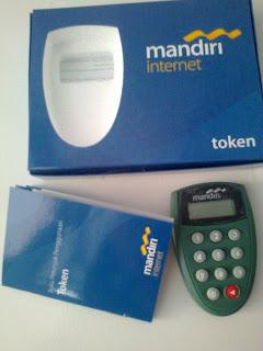 Gambar (Foto) Token PIN Bank Mandiri
