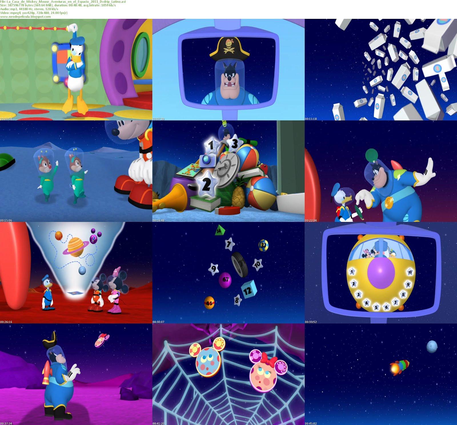 La Casa de Mickey Mouse: Aventuras en el espacio (2011