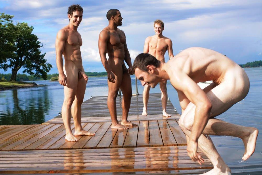 Голые Мужчины Нудики Тоже Любят Свободу Тела