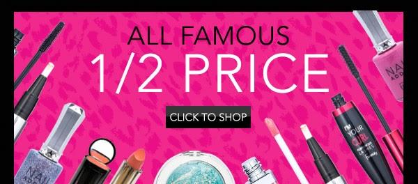 Famous Make Up - Tutto a metà prezzo