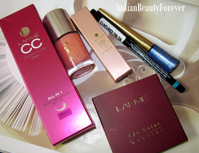 lakme 9 to 5 makeup range