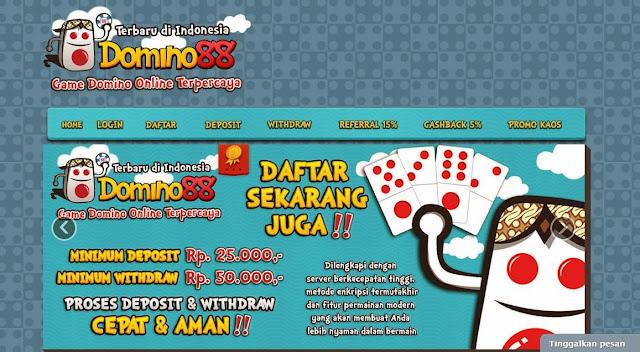 Daftar Domino Poker Domino88
