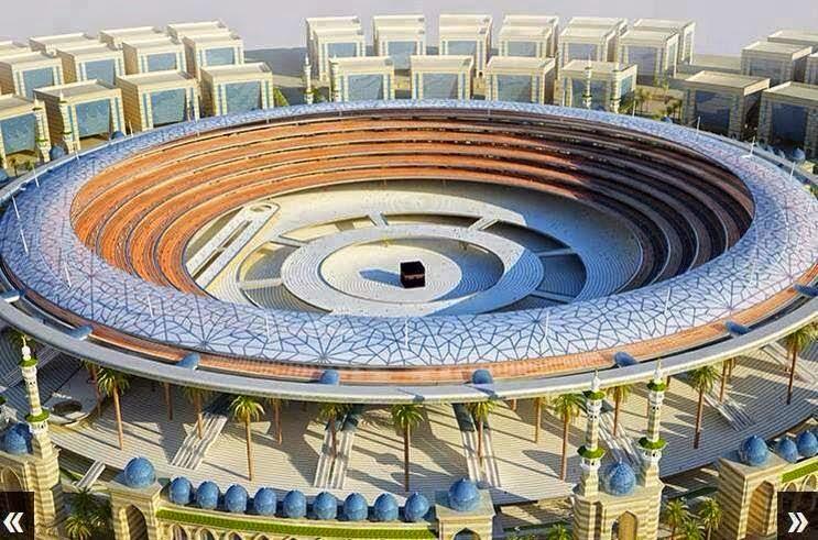 Wow, Inilah Master Plan Konstruksi Masjidil Haram 2020