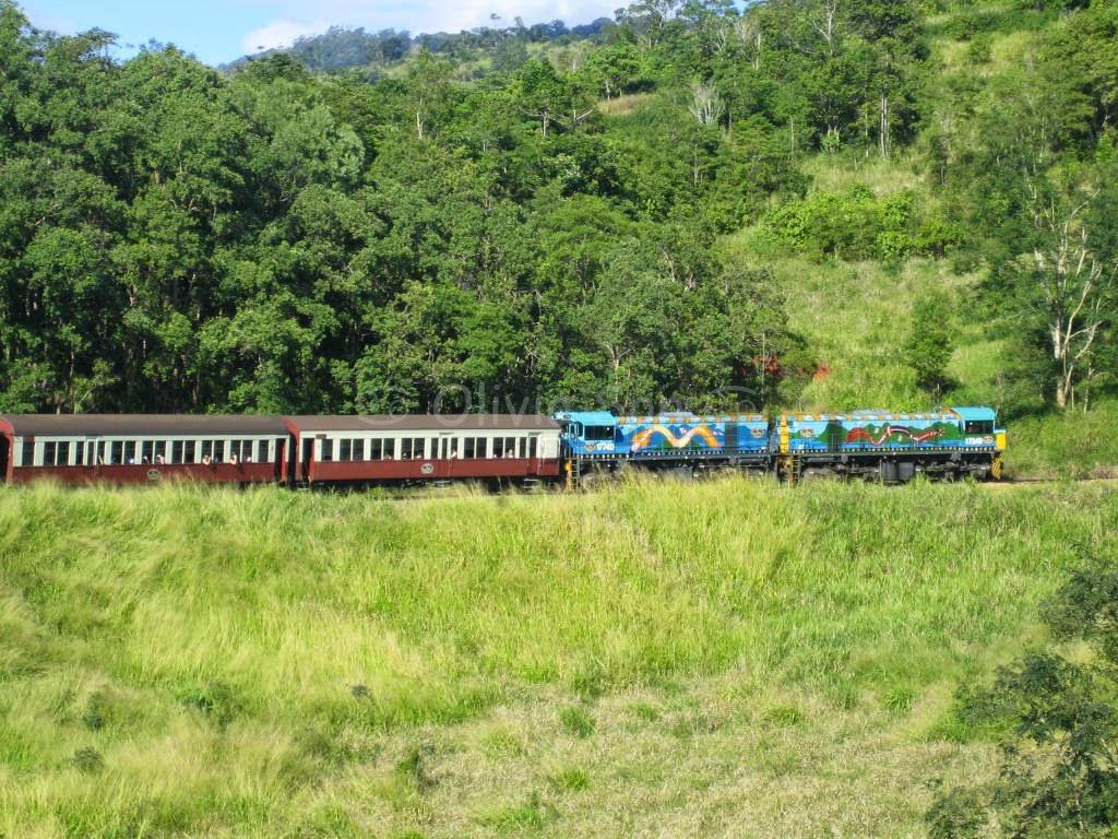 Kuranda Railway, Cairns Tablelands, Queensland, Australie