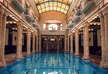 Balneario de Gellert en Budapest
