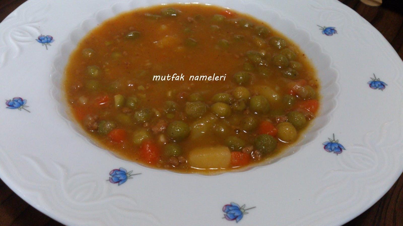 Kıymalı bezelye yemeği tarifi – Kıymalı bezelye yemeği nasıl yapılır – Yemek tarifleri