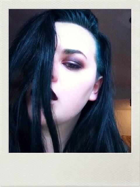 Dying Dark Brown Hair Purple Without Bleach Dark Brown Hairs | Dark ...