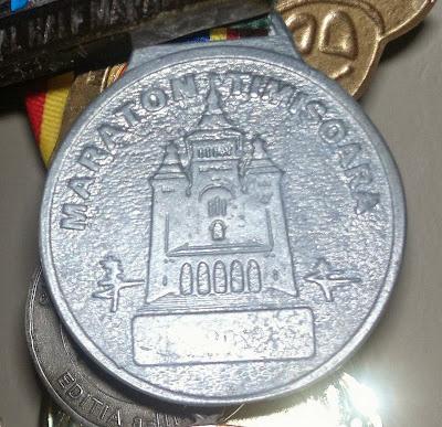 Maraton Timisoara 2013 Medalie