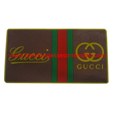 Dash Mat Gucci Coklat List Merah Hijau