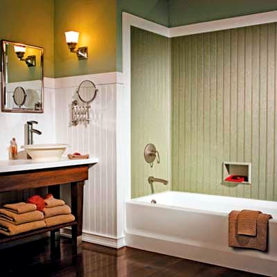 Ideas By Looking At The Images Below About Beadboard Bathroom Ideas