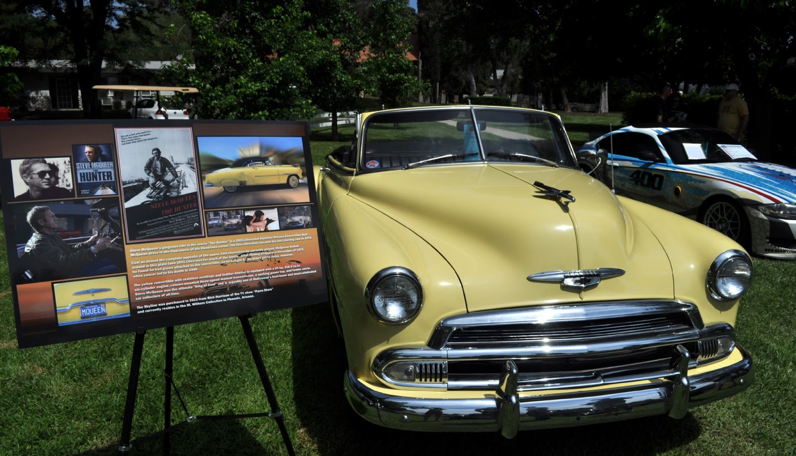 The Chevy That Steve McQueen Drove In The Movie The Hunter Was - Chino hills car show