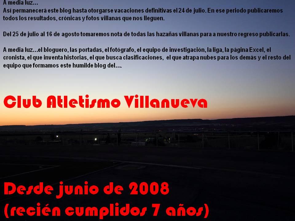 CLUB DE ATLETISMO DE VILLANUEVA DE LA TORRE